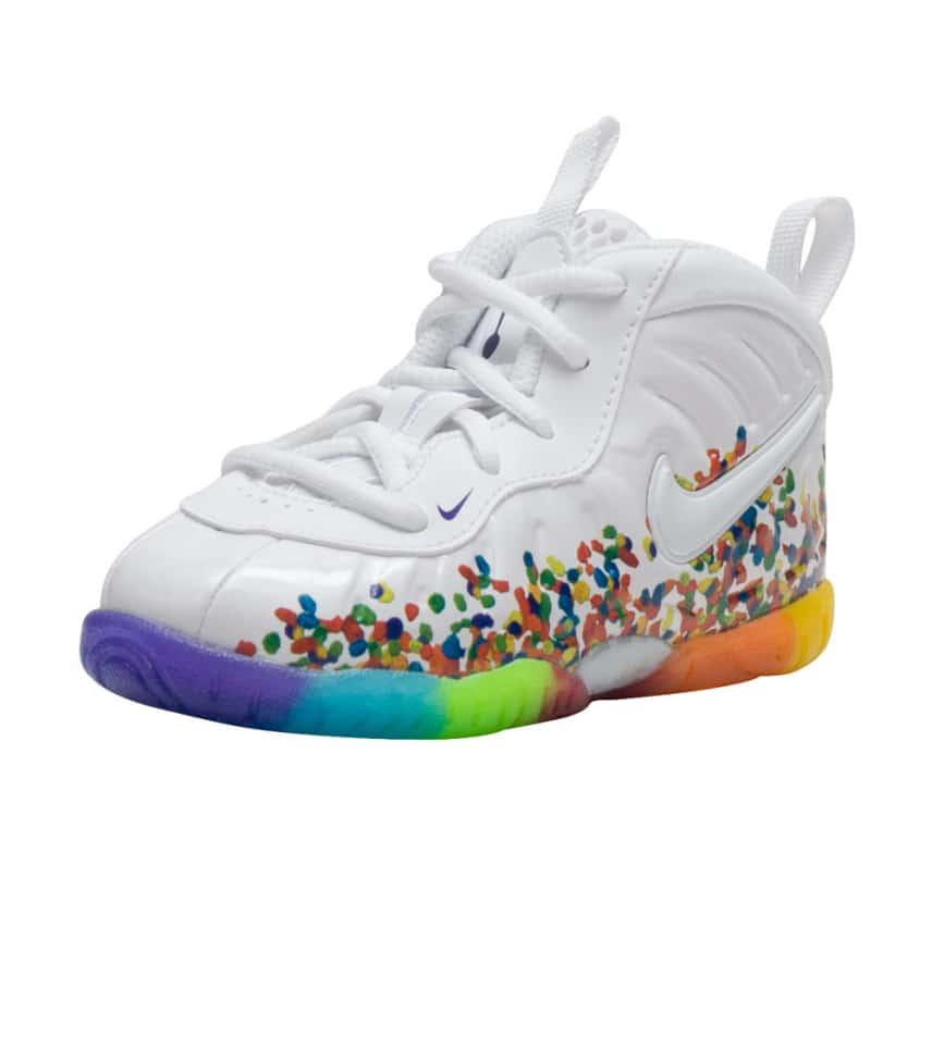 Nike LITTLE POSITE PRO SNEAKER (White) - 843769-101  9b0d2176d