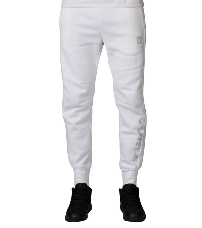 5bedce1119b2 Jordan FLIGHT HYBRID FLEECE PANT (White) - 853854-100