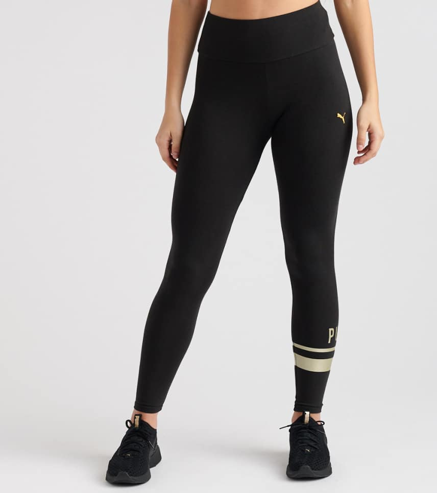 9d13d9edbf3dce Puma Athletic Logo Leggings (Black) - 85482056-001   Jimmy Jazz