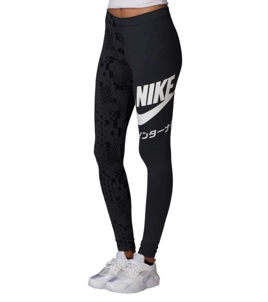 8faab1e57389b Nike NIKE INTERNATIONAL PRINT LEGGING AOP (Black) - 859160-010 ...