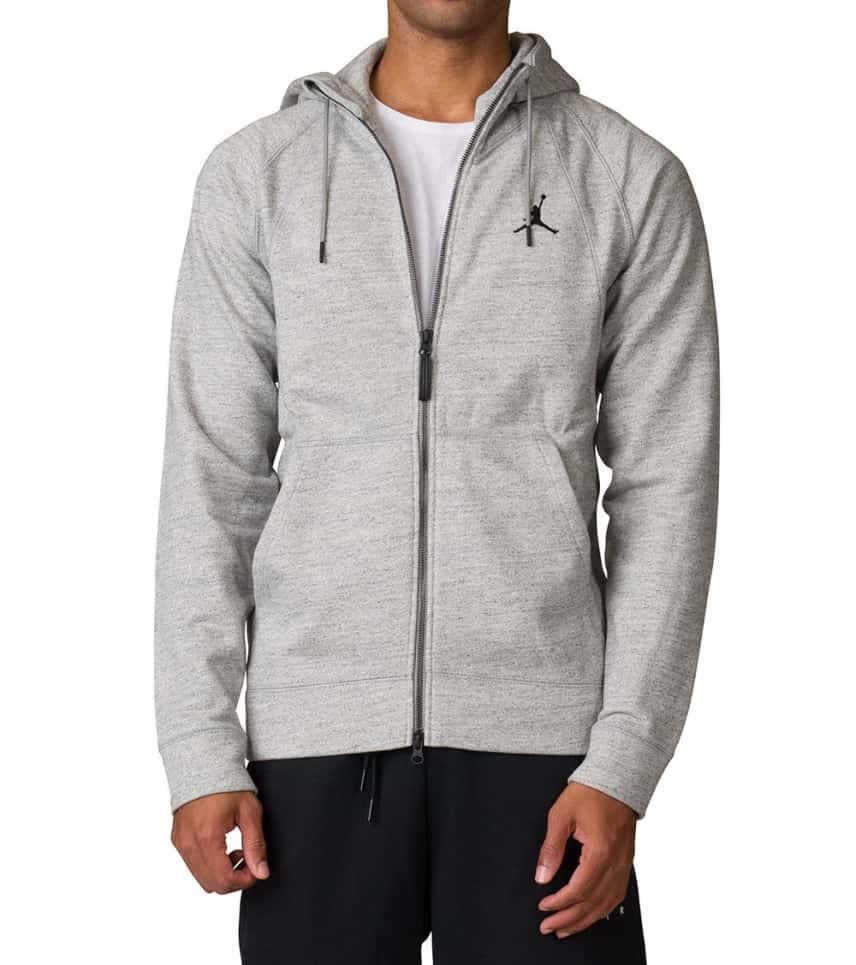 acb64c4dee2b Jordan Wings Fleece Hoodie (Grey) - 860196-063