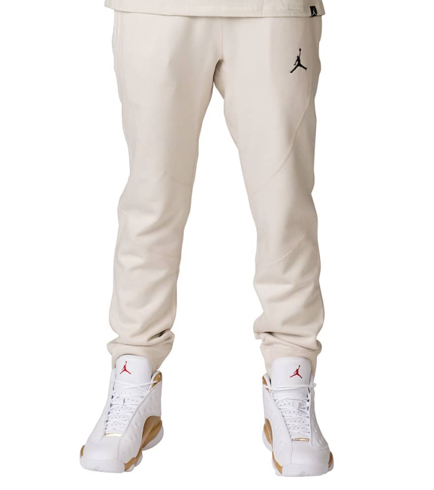a14283e5d8e Jordan Wings Fleece Pants (Beige-khaki) - 860198-102 | Jimmy Jazz
