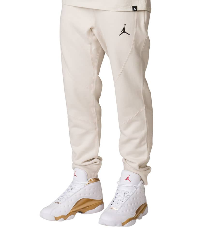 c8a8a9add539 Jordan Wings Fleece Pants (Beige-khaki) - 860198-102