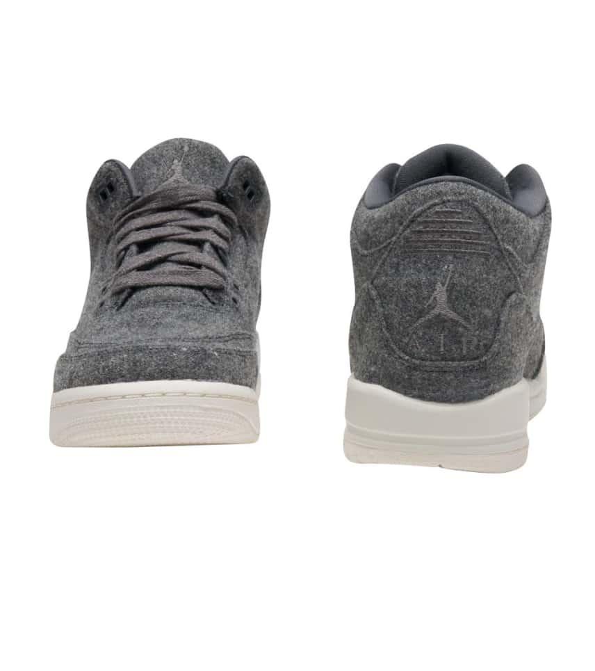 6253d867d089 Jordan RETRO 3 WOOL (Dark Grey) - 861427-004