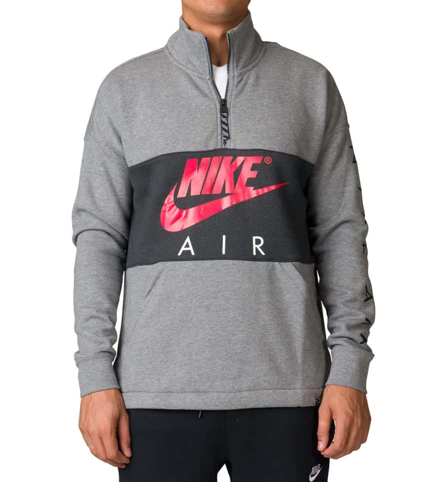 ace24962dbdc3 Nike NSW Air Fleece Top (Grey) - 861620-091 | Jimmy Jazz