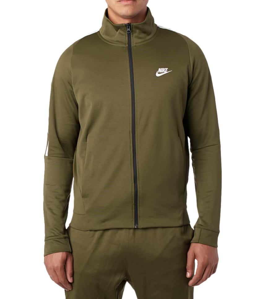 Nike Tribute Polyknit N98 Jacket (Green) - 861648-395  0acceff49