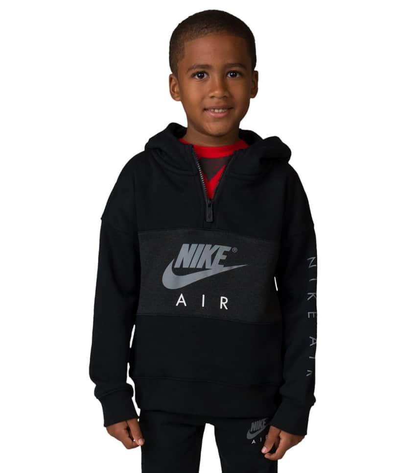 bce5dcfb1b45 Nike Boys 4-7 Nike Air Half Zip Hoodie (Black) - 86C342-023
