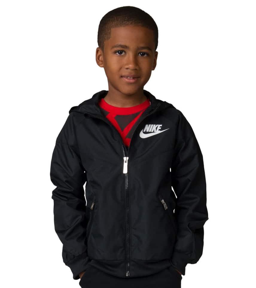 608c5bffb Nike Boys 4-7 Windrunner Jacket (Black) - 86C663-023 | Jimmy Jazz