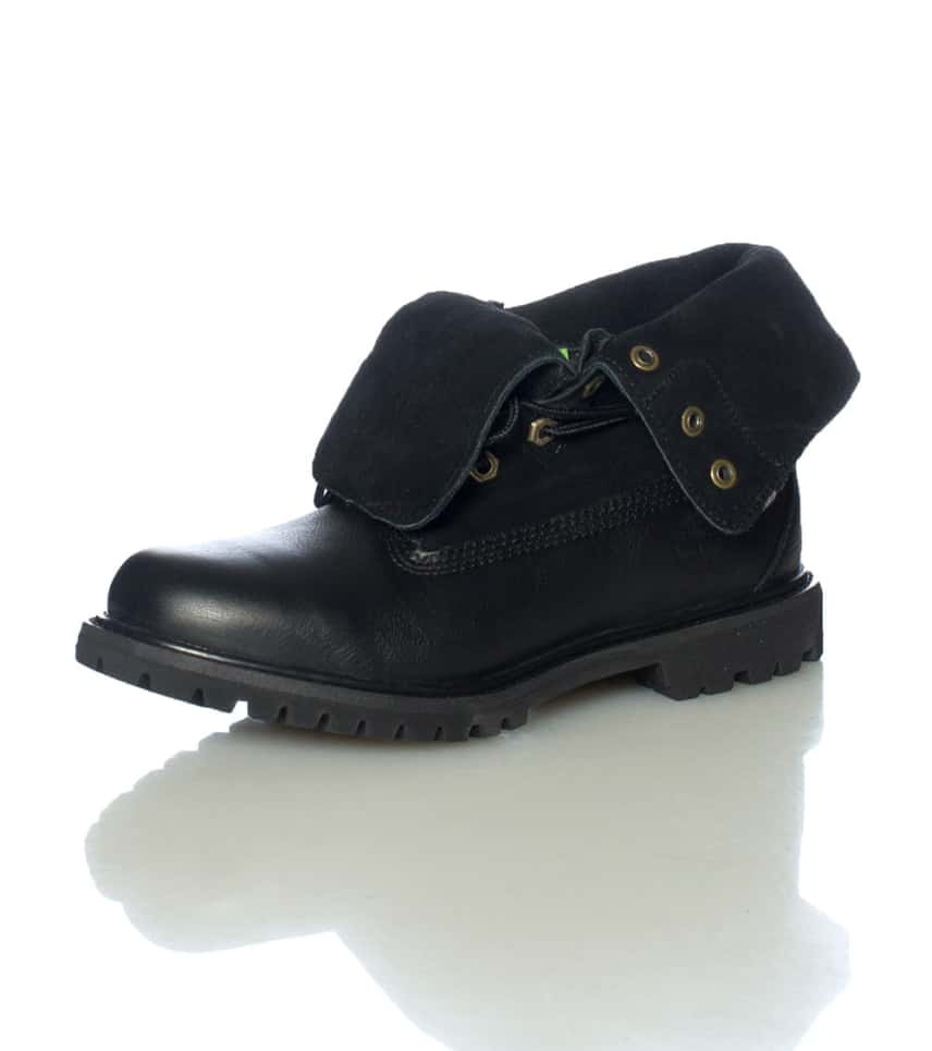 c07c498640c4 TIMBERLAND ROLL TOP BOOT (Black) - 8703A