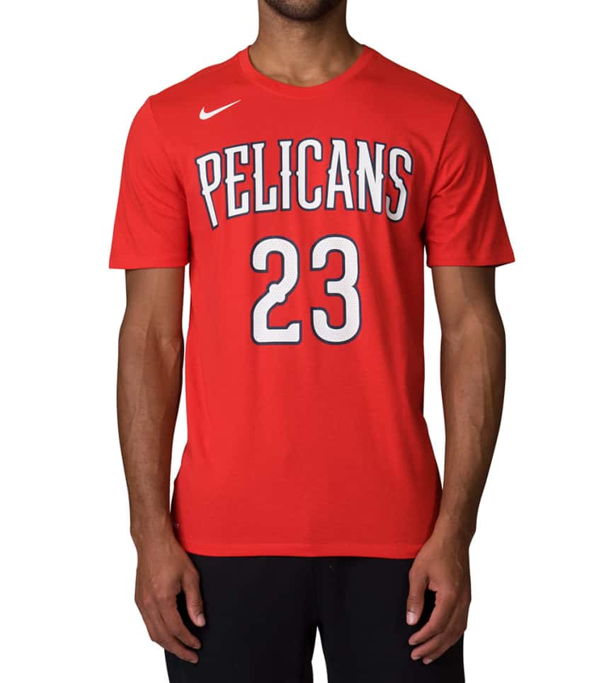 431277a77 Nike New Orleans Pelicans Anthony Davis Tee (Red) - 870792-657 ...