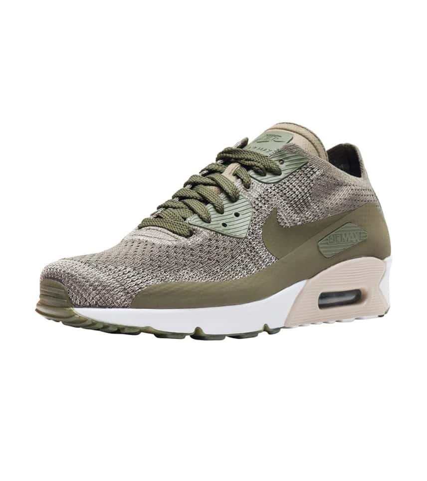 2d93ada1d2 Nike Air Max 90 Ultra 2.0 Flyknit (Dark Green) - 875943-200