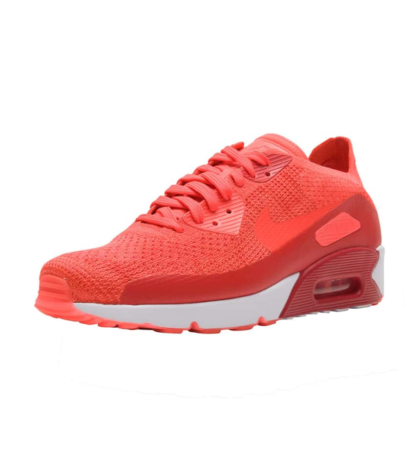 2b0d11de54 Nike Air Max 90 Ultra 2.0 Flyknit (Red) - 875943-600