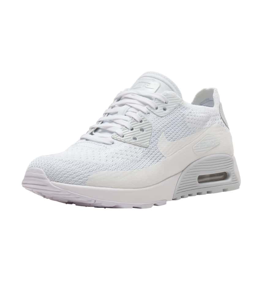 4f1ef85aa1c06 Nike Air Max 90 Flyknit Ultra 2.0 (White) - 881109-104