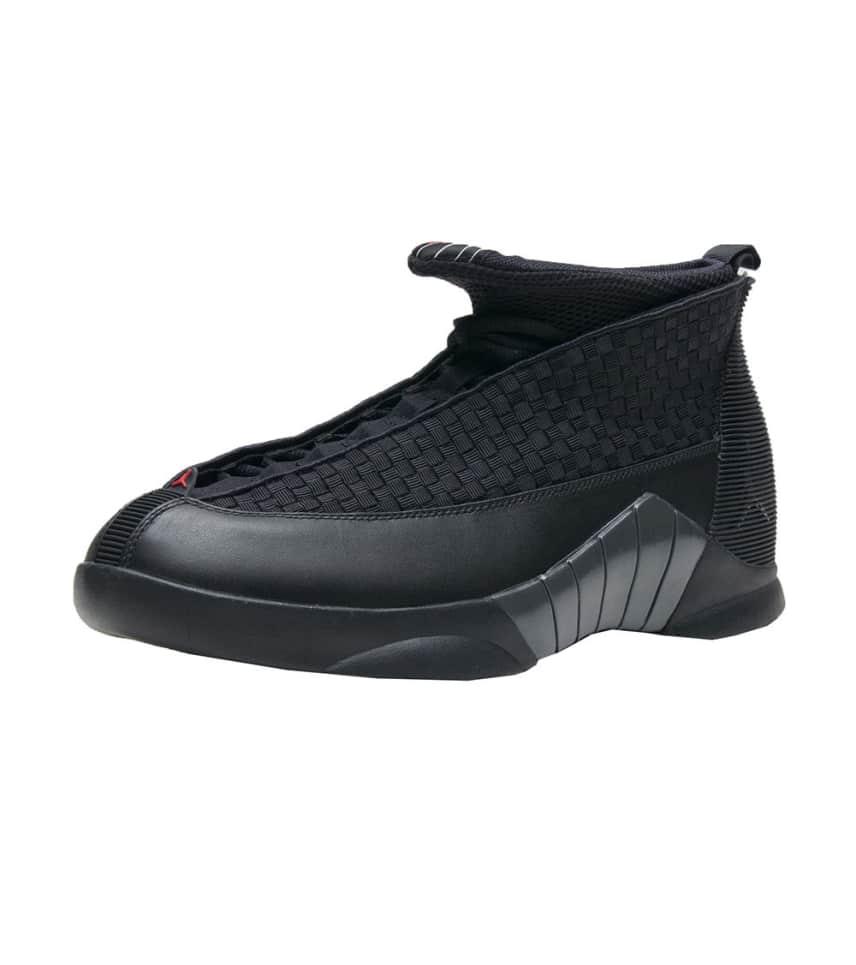 b46e1e0ea86652 Jordan RETRO 15 SNEAKER (Black) - 881429-001