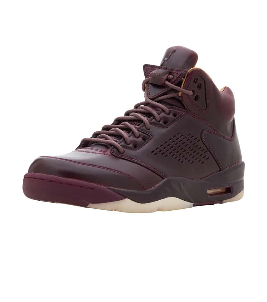 cf654339255d53 Jordan Retro 5 Premium QS (Burgundy) - 881432-612