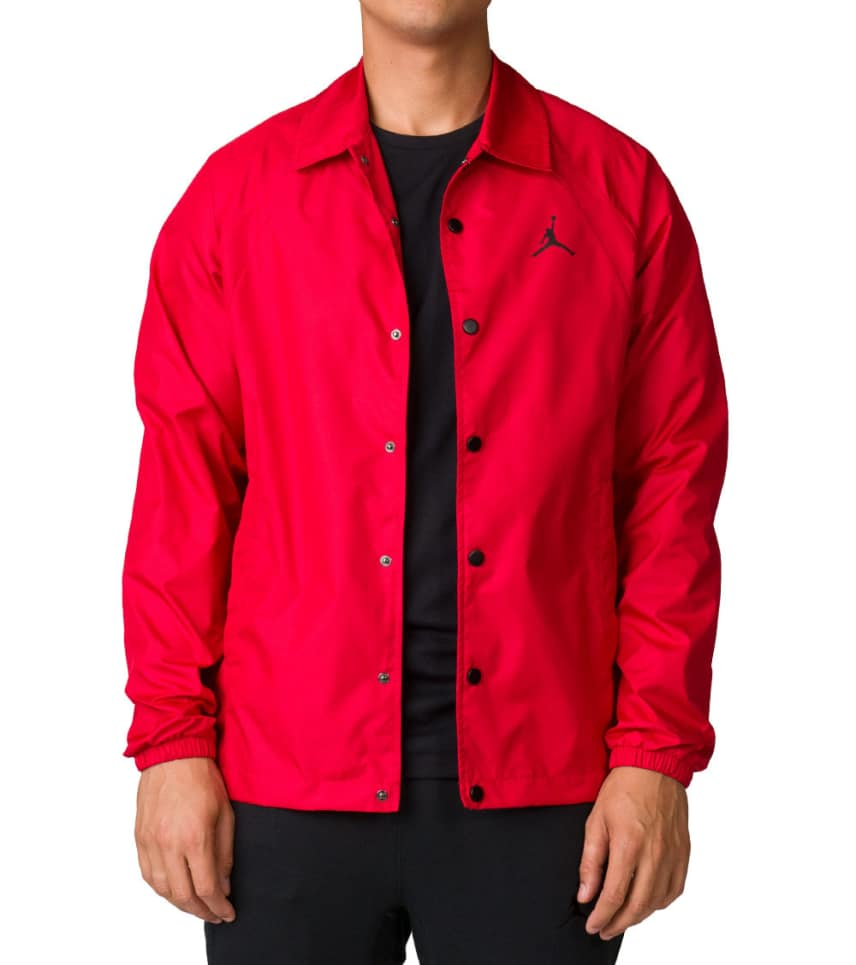 Jordan Wings Coaches Jacket (Red) - 882893-687  207b96a691