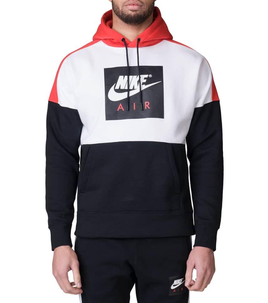 219410da4125 Nike Air Fleece Hoodie (White) - 886046-100