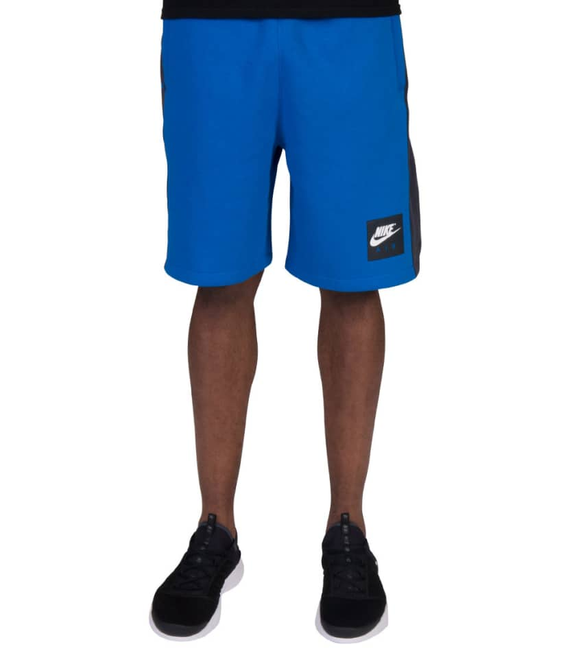 996a7bab2185 Nike NSW Air Fleece Shorts (Blue) - 886052-465