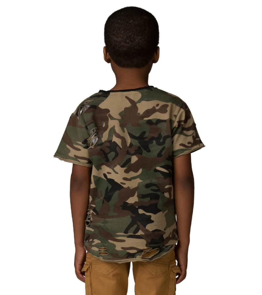 08de1d5e ... Jordan Craig Kids - Short Sleeve T-Shirts - Boys 2-7 Distressed Camo ...