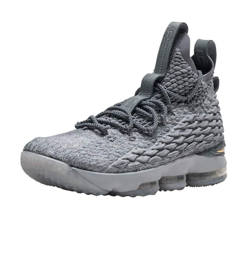 0e3cd723a592 Nike LeBron XV (Grey) - 897648-005