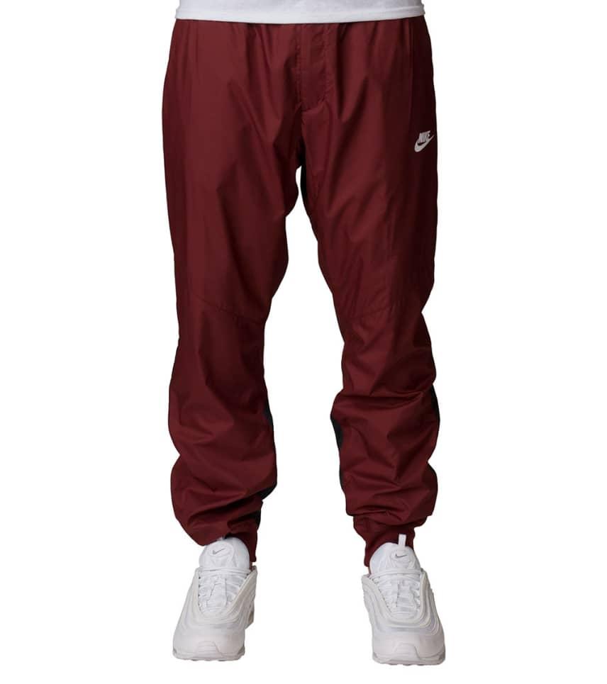 27c6924ff30f Nike Windrunner Pants (Burgundy) - 898403-619