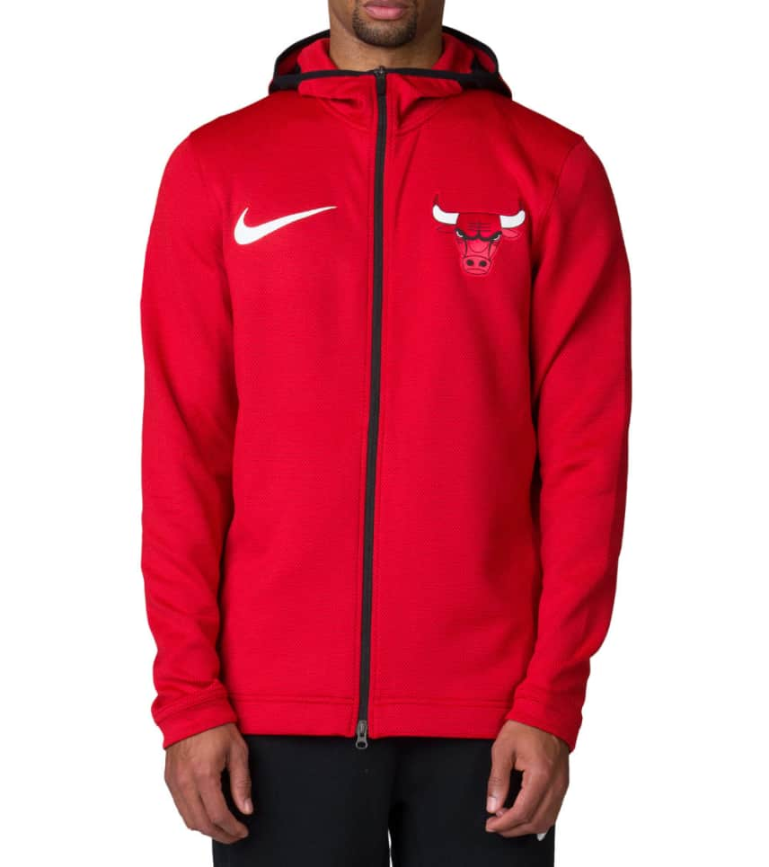 d6f9234a9 Nike Chicago Bulls Showtime Hoodie (Red) - 899830-657