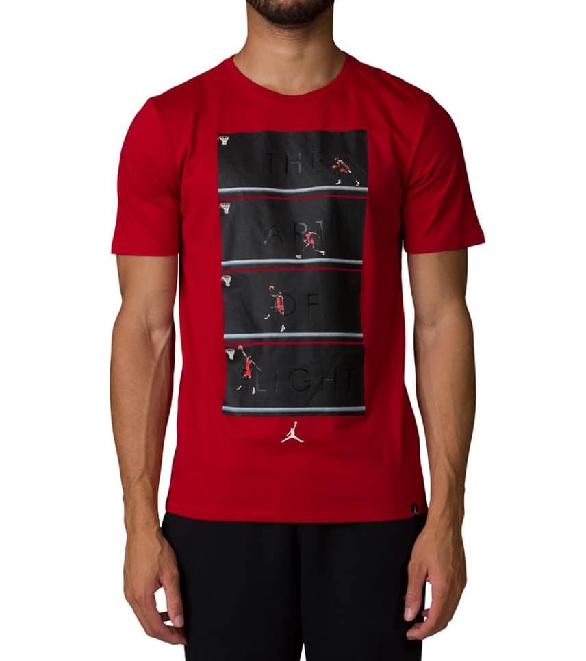 aa062d7c6e2b Jordan Art of Flight Tee (Red) - 905931-687