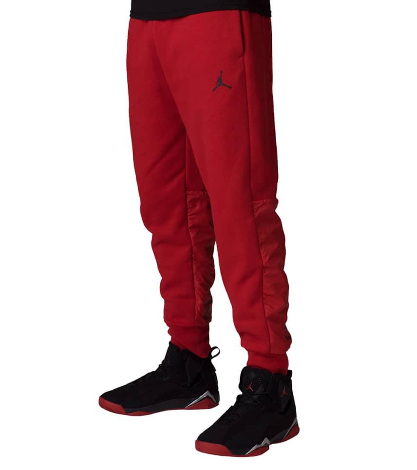 f71644b578802b Jordan Air Jordan 11 Hybrid Pants (Red) - 908364-687