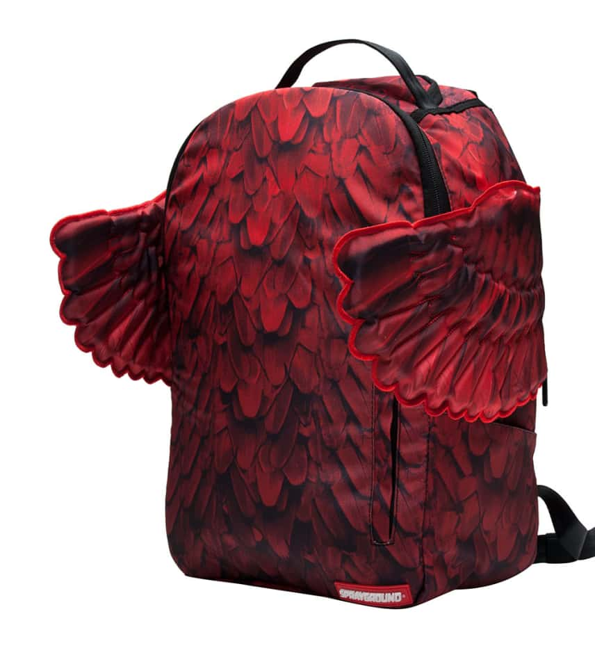 52bf7b0676d9f2 Sprayground RED WINGS DLX BACKPACK (Red) - 9100B646NSZ