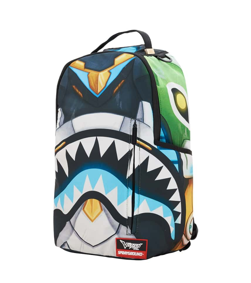 62d3c09c Sprayground Voltron Shark Backpack (Multi-color) - 910B1521NSZ ...