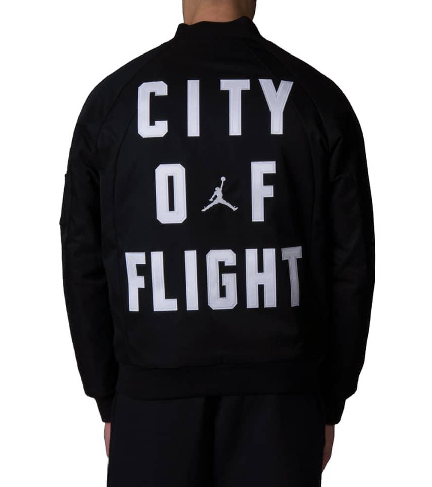 cfe70d38a75 Jordan Wings City of Flight MA-1 Jacket (Black) - 911313-010 | Jimmy ...