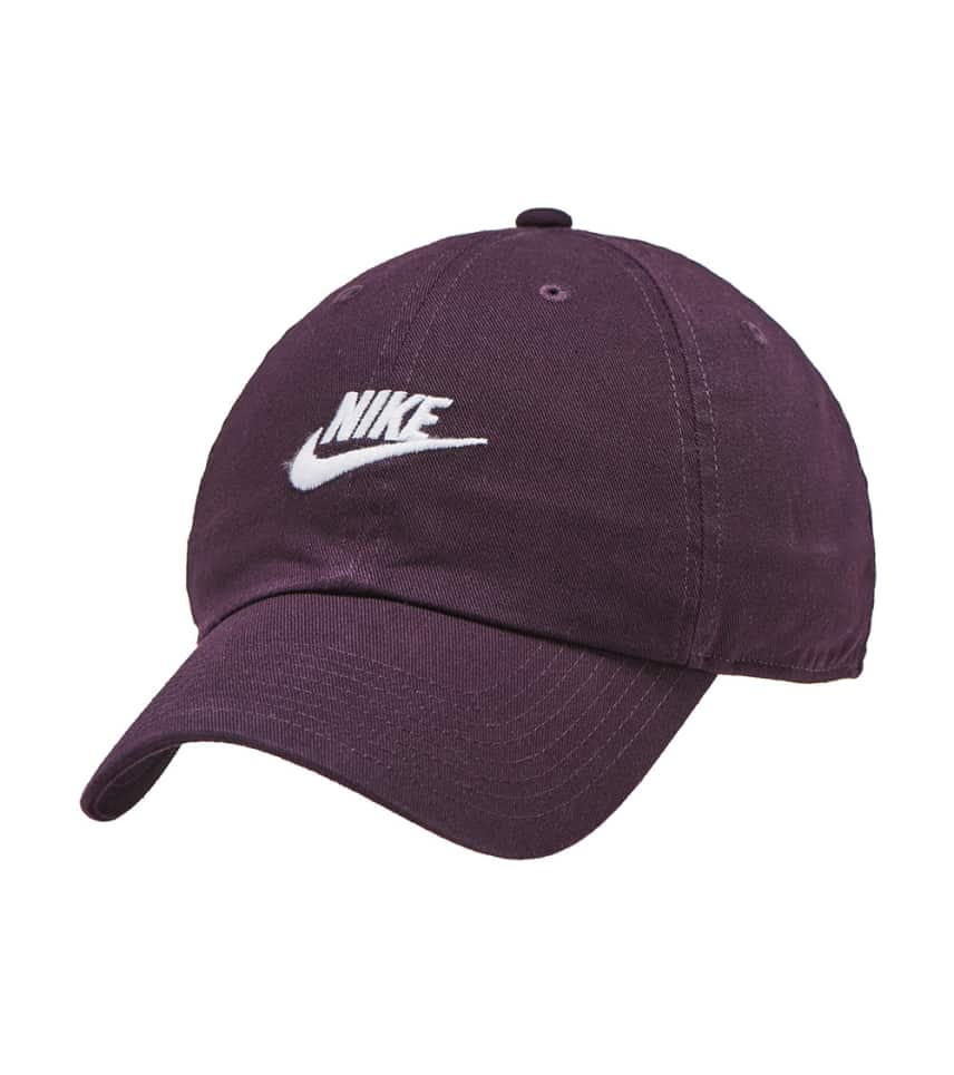 513f0c249f1 Nike Futura Washed Cap (Burgundy) - 913011-659