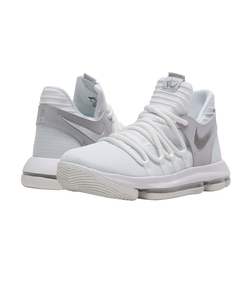 4522826a26c Nike KD 10 Sneaker (White) - 918365-100