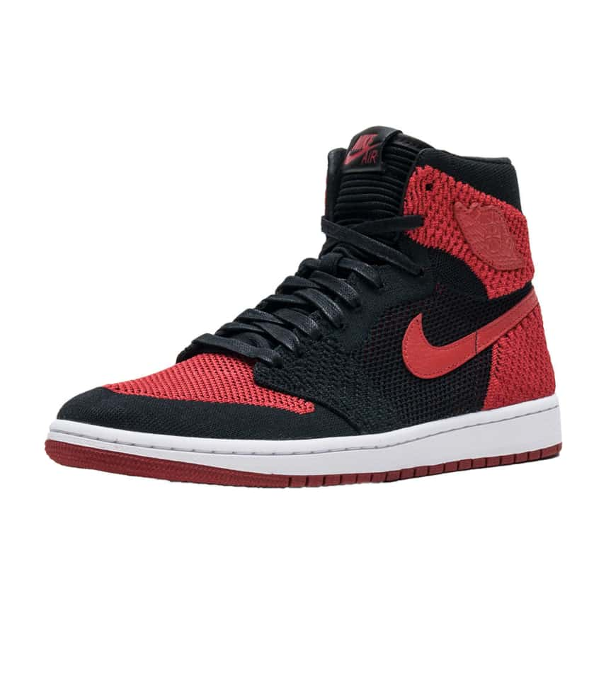 c3f8d4ac2399 Jordan Retro 1 High Flyknit (Black) - 919704-001
