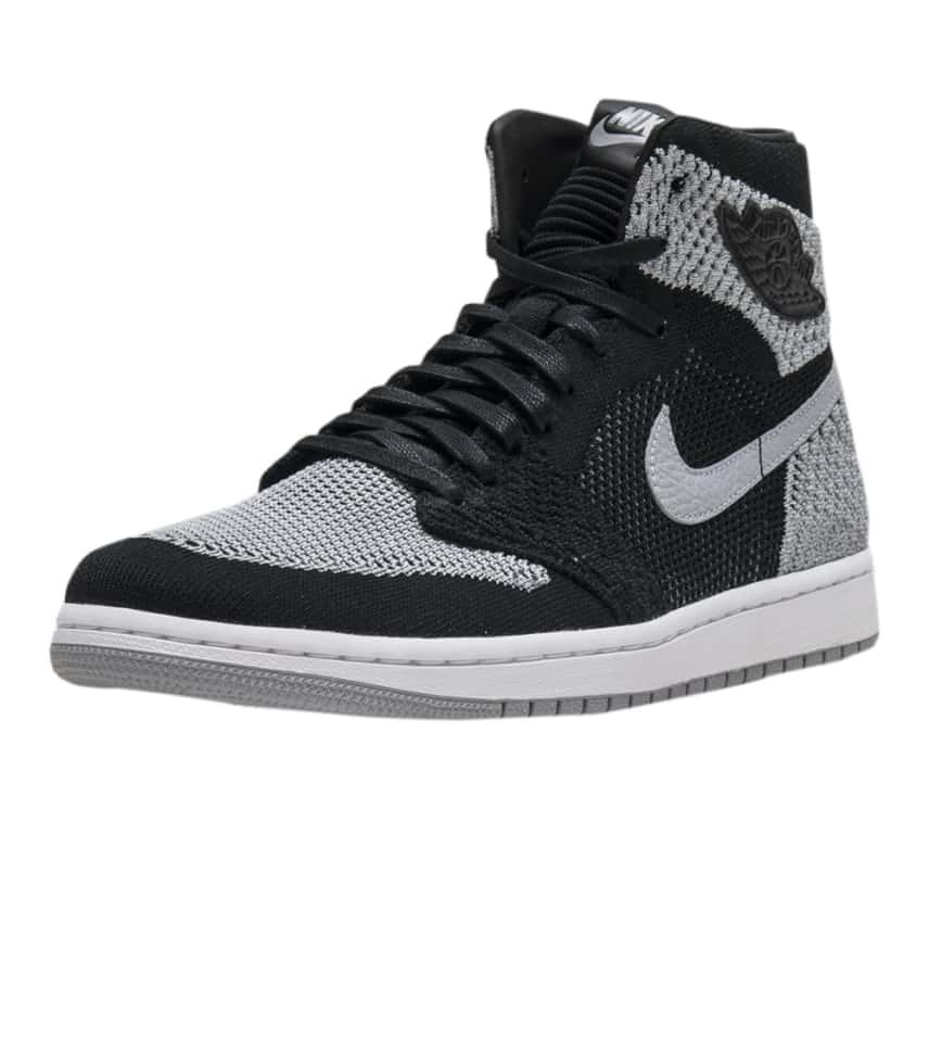 bd37c41c900f6 Jordan Retro 1 High Flyknit (Black) - 919704-003