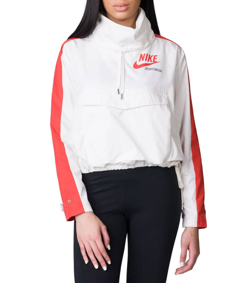 37f7c30f3c70 Nike Archive Pullover Jacket (White) - 920913-133