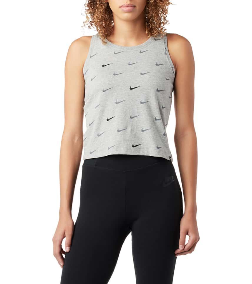 Nike Swoosh Aop Tank (Grey) - 923338-063  c6a26bfa715