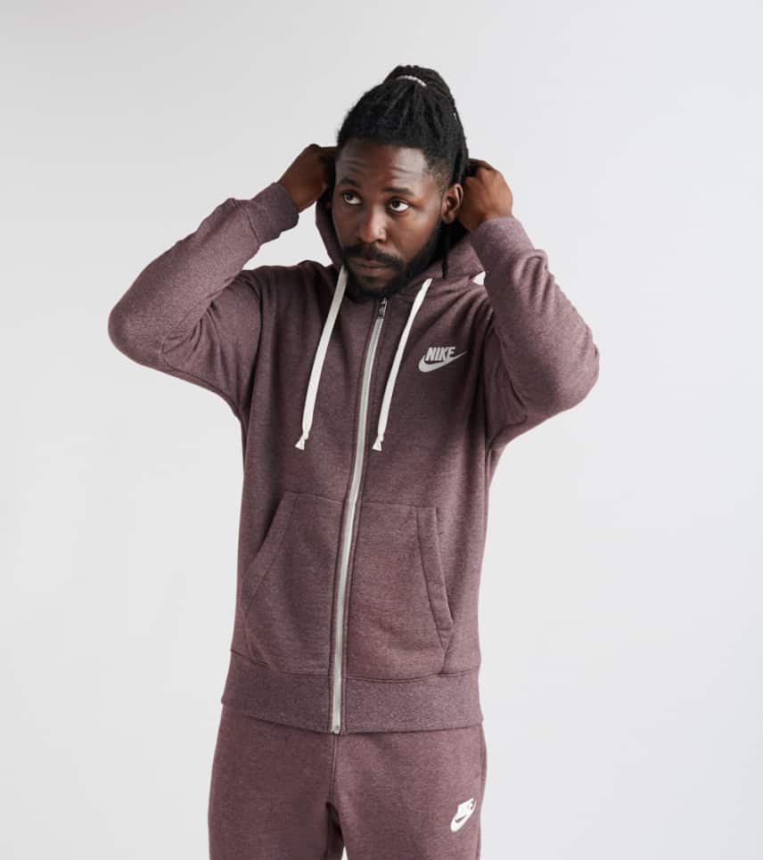 26c48870daa8 Nike Heritage Full Zip Hoodie (Medium Purple) - 928431-652
