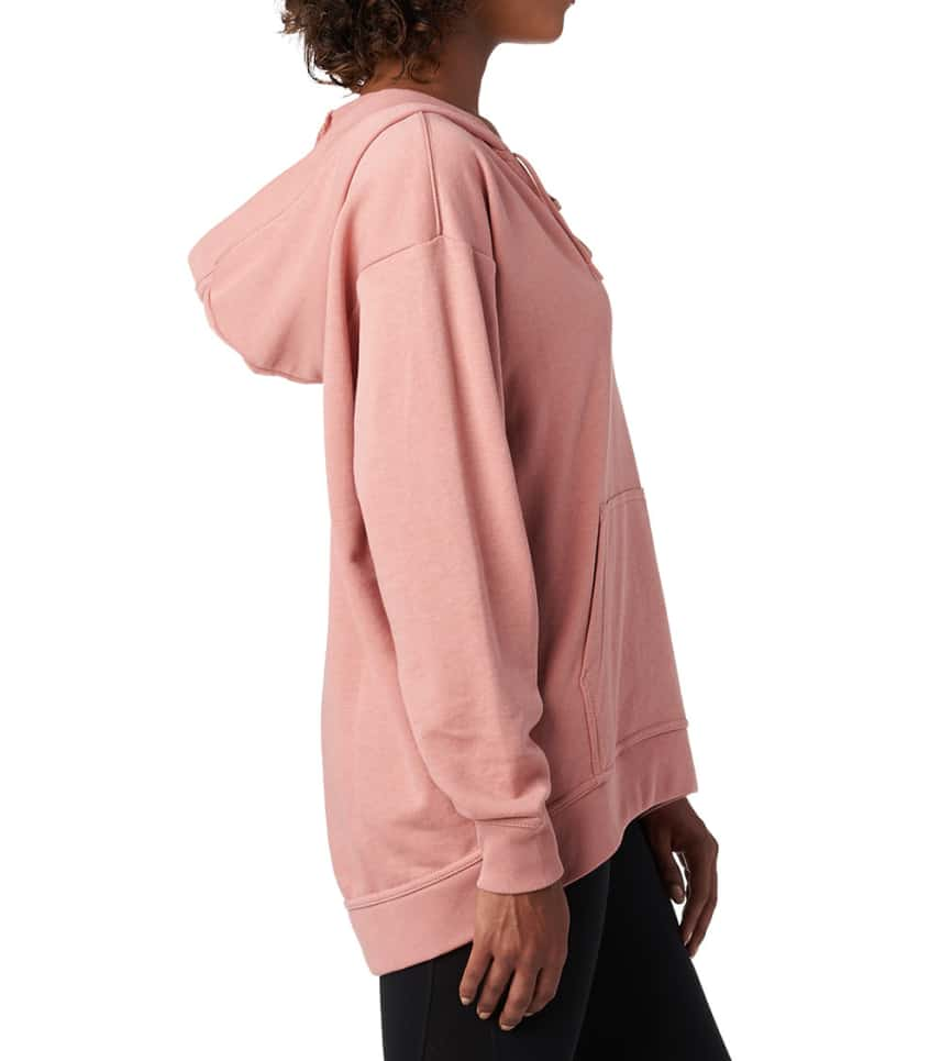 10824254bd0d Nike FT Lace Up Hoodie (Pink) - 929531-685