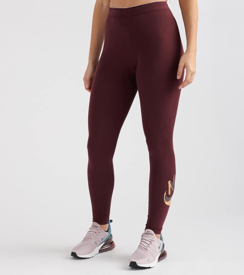 095232d7eaf1d Nike Metallic GX Legging (Burgundy) - 939301-652 | Jimmy Jazz