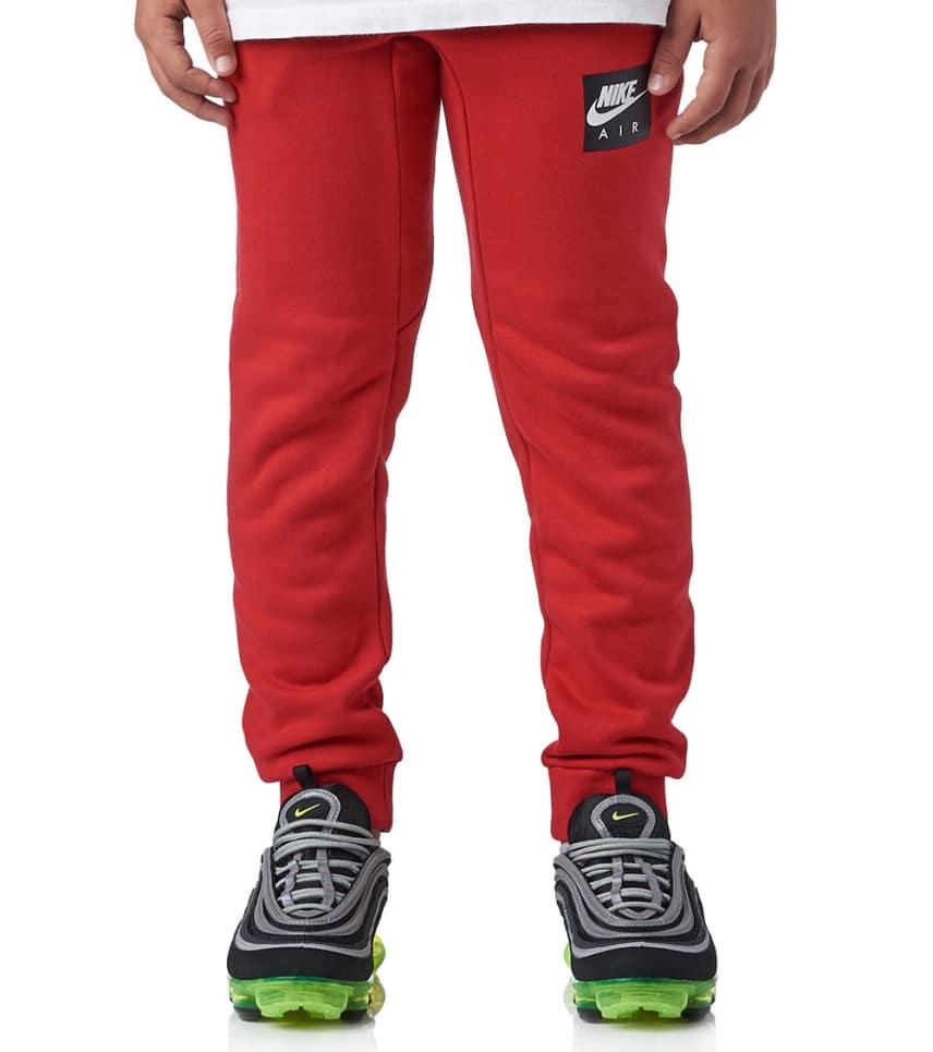 c7f628441939 Nike Boys 8-20 Nike Air Pants (Red) - 939585-687