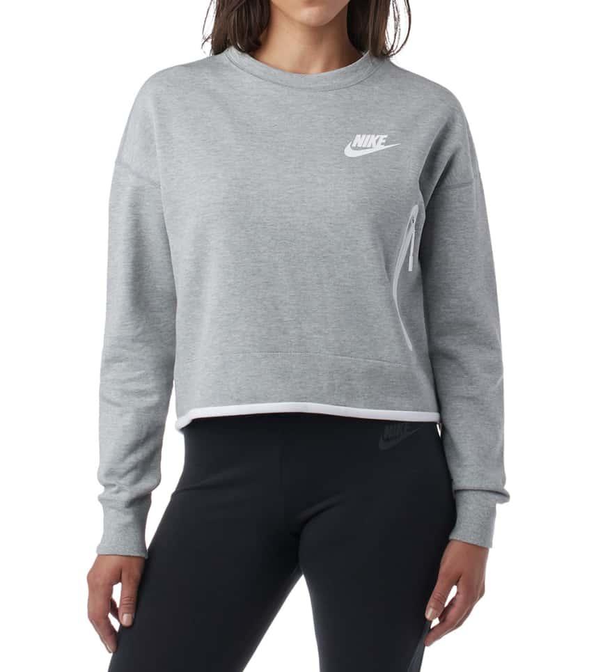 402ebc0f Nike TECH FLEECE CREW (Grey) - 939929-063 | Jimmy Jazz