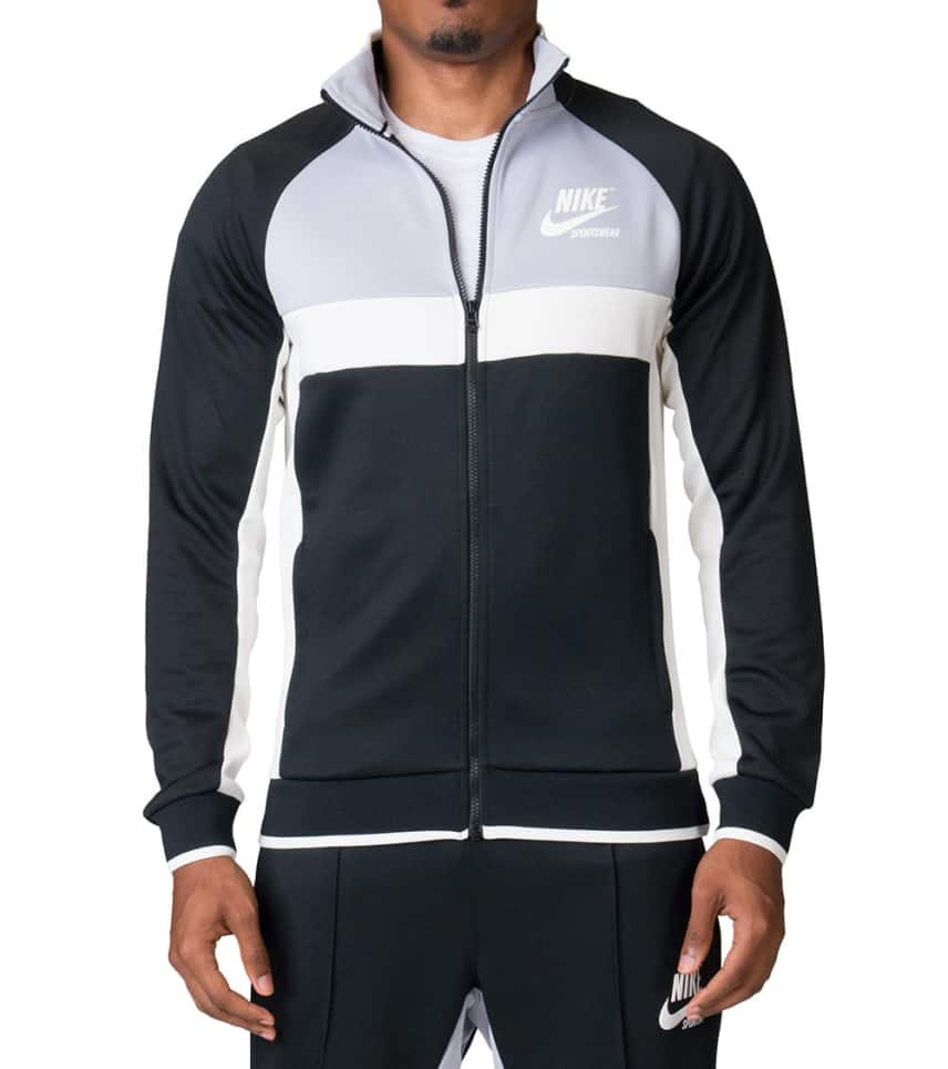 4ffa6db2494024 Nike Archive Polyknit Track Jacket (Black) - 941847-010 | Jimmy Jazz