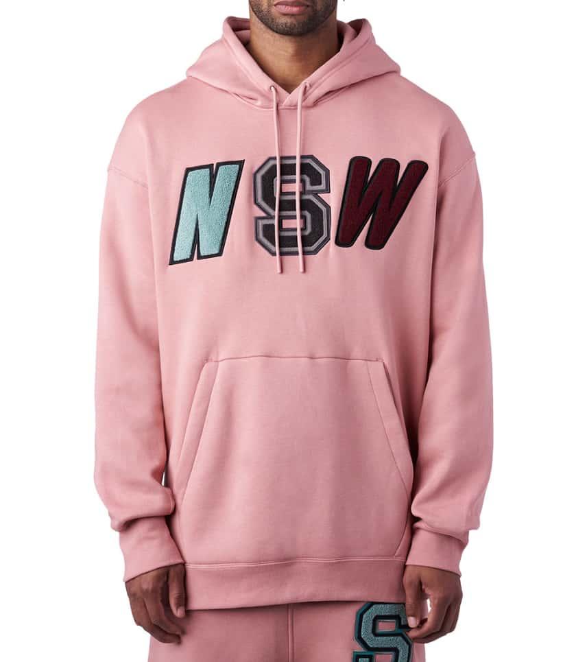 a96e752c8 Nike Sportswear Pullover Fleece Hood (Pink) - 943573-685