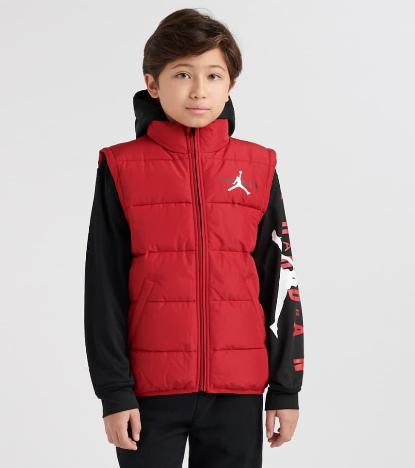 9a19126efc8ad6 ... Jordan - Light Jackets - Boys 8-20 AJ HBR 2 Fer Puffer Jacket ...
