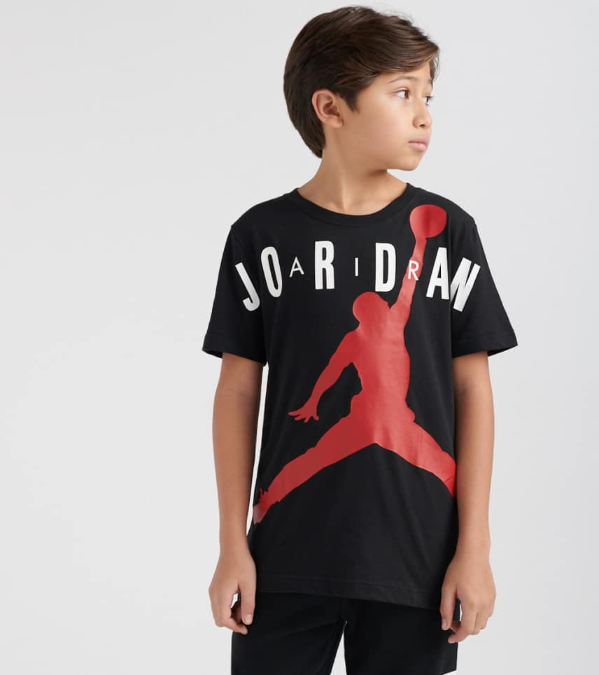 519e0771082bd5 ... Jordan - Short Sleeve T-Shirts - Boys 8-20 Jumpman Air SS Tee ...