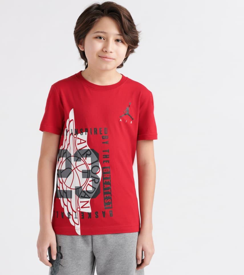 d1b18504b0c6 ... Jordan - Short Sleeve T-Shirts - Wings Spin Tee ...