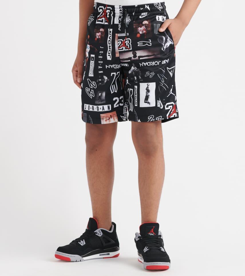 369ec7a5f1e Jordan Jumpman GFX Mesh Short (Black) - 956126-023 | Jimmy Jazz