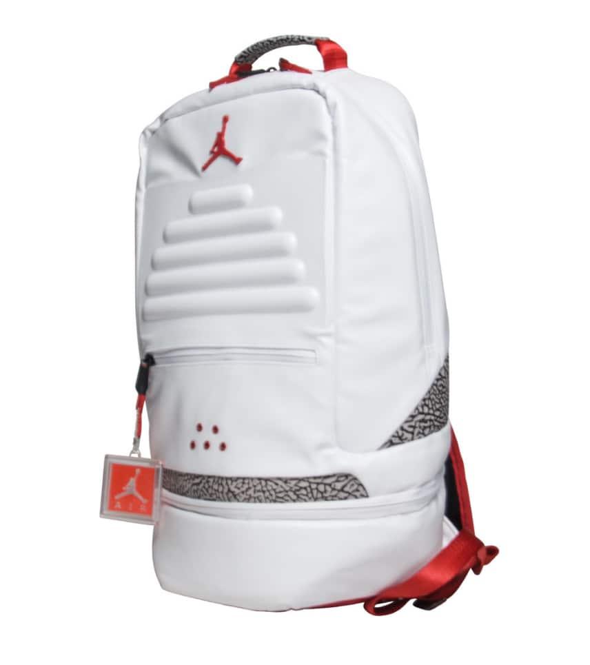 b79e2344849 Jordan Retro 3 Backpack (White) - 9A0018-R69 | Jimmy Jazz