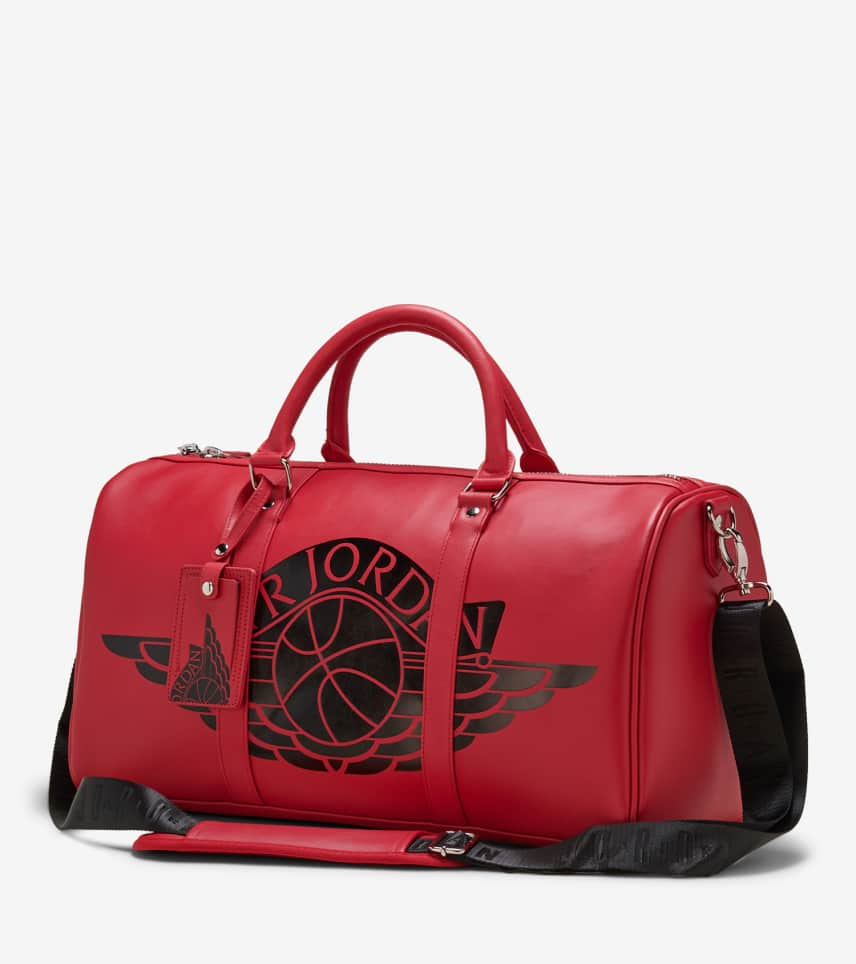 f4009f819a0687 Jordan Jumpman Duffle Bag (Red) - 9A0165-R78
